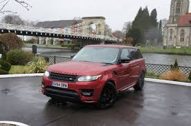 range rover pink and black range rover sport like a cathedral on wheels only with comfier