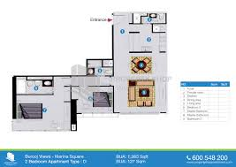 6 Bedroom Floor Plans Burooj Views Tower Floor Plans