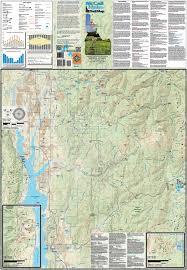 Jackson Hole Map Mccall Idaho Trail Map Adventure Maps