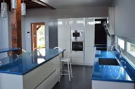 cuisine et plan de travail plan de travail cuisine en lave émaillée exaltika atelier