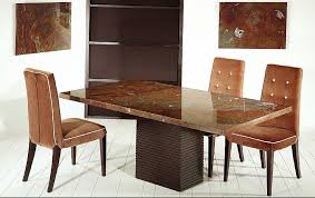 Stone Dining Room Table - stone top dining table tjihome