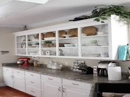 Decorating Ideas For Kitchen Shelves Best Decoration Ideas Custom Kitchen Cabinet Open Shelves And