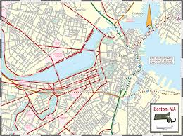 Map Of New York City Attractions Pdf by Boston Large City Maps World Map Photos And Images