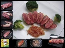 cuisiner les chignons de a la poele magret de canard cuisson à la poêle par chef gilles lamy