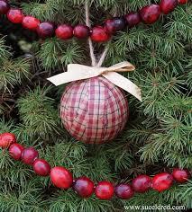 homespun rag ornaments sue s creative workshop