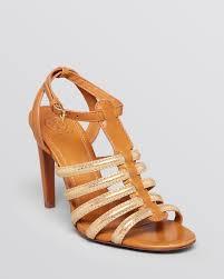 gold gladiator sandals with heels is heel