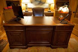 Home Office Executive Desk Paneled Executive Desk Eclectic Home Office Other By Fresh