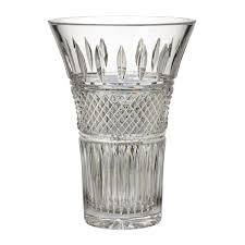 Large Waterford Crystal Vase Waterford Irish Lace Vase 27cm Waterford Crystal
