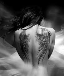 Wing Back Tattoos For - designs for