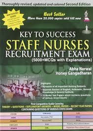 buy key to success staff nurses recruitment exam 5000 mcqs with