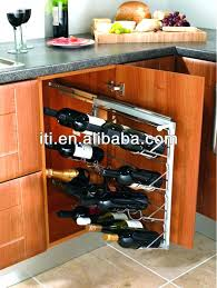 Pull Out Spice Rack Cabinet slide out racks for kitchen cabinets u2013 petersonfs me
