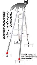 leitern fã r treppen referenzen telekopleiter