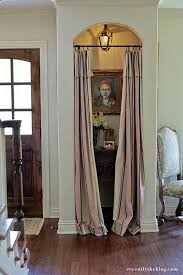 giving up a coat closet for a pretty entry nook emily a clark