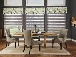 dining room window treatments home decor gallery