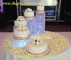 acrylic cake stands wedding cupcake stand acrylic bead cascade waterfall