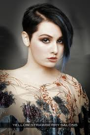 long brown hairstyles with blue highlights 20 fabulous ideas for