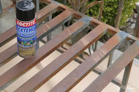 Remove Rust From Metal Furniture by Painting Tips U2013 How To Prep And Paint An Old Iron Bench With Chalk