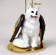 american eskimo figurine ornament statue painted