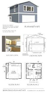 apartments lovely garage plans apartment detached garge one
