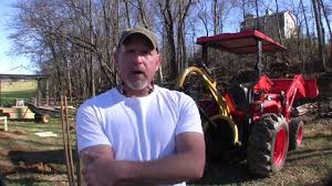 how to build a pole barn pt 2 digging holes youtube