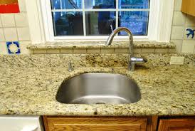 How To Clean A Corian Sink Kitchen Reno Removing Our Sink U0026 Our Old Granite Counters Young