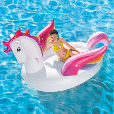 Plastic Swimming Pools At Walmart Swimline Giant Swan And Flamingo Floats For Swimming Pools