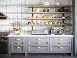 kitchen blue cabinets with brass pulls brass handles kitchens