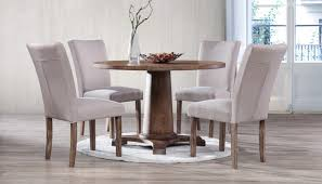 dining room sets with fabric chairs dining room collections home zone furniture dining room