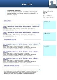 curriculum vitae cv resume samples u0026 resume format