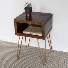 dark wood side table ella bedside table side table small table dark oak