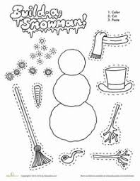 snowman sequencing printables free from 1plus1plus1 winter