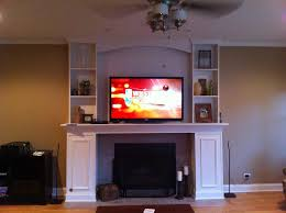 baby nursery appealing mounting tv over gas fireplace is it ok im getting so many