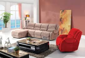 Fabric Reclining Sofa Modern Home Sectional Fabric Recliner Sofa Furniture