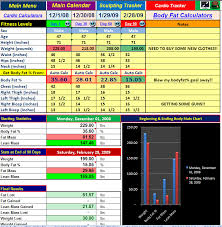 excel spreadsheet workout manager tool for use with power 90