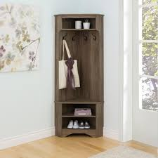 Entryway Hall Tree by Prepac Hall Trees Entryway Furniture The Home Depot