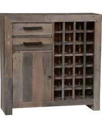 Distressed Wood Bar Cabinet Bargains On Foster Reclaimed Pine Bar Cabinet Charcoal
