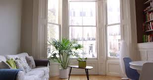 establishing shot of beautiful modern luxury home interior stock