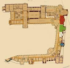 Floor Plan Of Windsor Castle   windsor castle principal floor partial floor plan floor plans