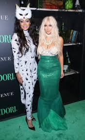 lala anthony and kim kardashian halloween costumes the hollywood
