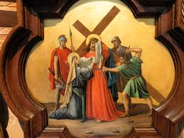 the sixth station veronica wipes the face of jesus u2013 shameless