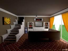 daylight basement daylight basement stair storage house ideas planner 5d