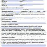 free massachusetts standard residential lease agreement form pdf