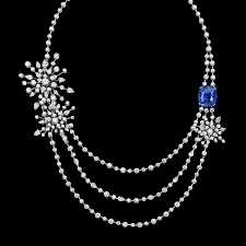 collections u2013 brilliant designs in limelight garden party necklace in 18k white gold set with 248