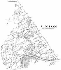 Ohio Union Map by Washington County Genealogy Pagenweb Project Map Union Township
