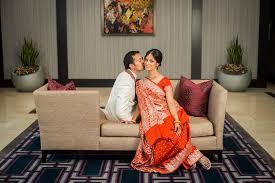 Reception Sarees For Indian Weddings Tania U0026 Kiran U0027s Summer Bengali Kannada Indian Wedding New Orleans