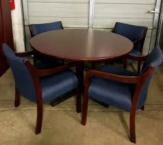 used round office table office tables aaaa office warehouse surplus