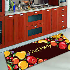 Long Rugs For Kitchen Kitchen Extraordinary Lemon Kitchen Rug Small Lemon Yellow Area