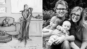 man draws the sweetest sketches of life with beloved wife u0027i