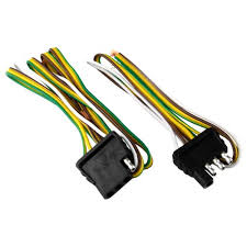 attwood 4 way flat wiring harness kit for vehicles and trailers