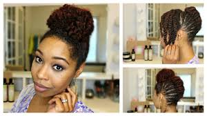 embrace braids hairstyles natural hair braided french roll updo feat embrace the natural